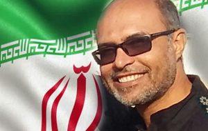 تشییع پیکر مطهر شهید امنیت «سروان رضا صیادی» در شوش