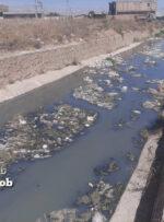 معضل کانالهای سیل بند شهر دهدشت/ بوی بد و نامطبوع کانالهای سیل بند خطری بزرگ برای سلامتی مردم